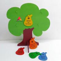 Pohon Rukun Islam - Mainan edukasi