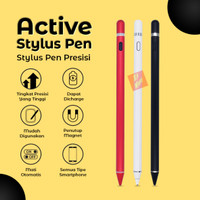 Rechargeable Capacitive Active Touch Screen Stylus Drawing Pen