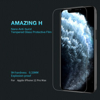 Tempered Glass Apple iPhone 12 Pro Max Nillkin Amazing H Anti Gores