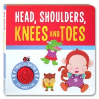 Head and Shoulders Knees and Toes Melody Sound Board Book (new version