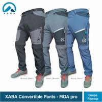 XABA convertible pants_moa - celana gunung sambung pdl quickdry