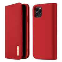 Case iPhone 11 Pro | 11 - DD Wallet Flip Case Genuine Premium Leather