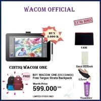 "Wacom One Display Cintiq Ceres 13"" Pen Display Full HD DTC 133 DTC133 - Free Gift"