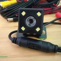 kamera mundur mobil universal led 4 titik