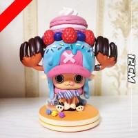 Action figure One Piece Tony Chopper deli dessert sweet cute 15th year