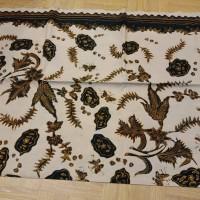 kain batik tulis sogan klasik Cirebon 83 UK 2,30x105cm