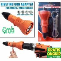 Adaptor Bor Cordless Electric Rivet Nut Gun Adapter Tang Rivet