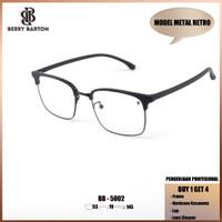 Berrybarton 5002 1 Paket kacamata minus frame+lensa+case+spray