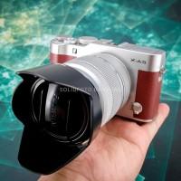 Fuji XA3 kit 16-50mm. Fullset Mulus. Bonus Leather case. Fujifilm X-A3
