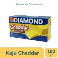 Keju Cheddar Cheese Diamond 180gr