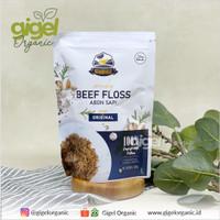 Grandville Abon Sapi Crunchy Renyah Original-100gr-Grand Ville Gigel