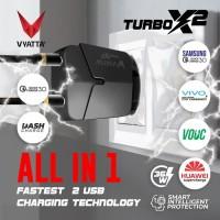 VYATTA TURBO X2 DUAL USB PORT CHARGER 36W - Dual Engine, QC 3.0