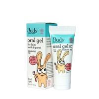 Buds Oral Gel For Baby Teeth & Gums 0-1 Year Pasta Gigi Organik Alami