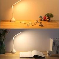 Lampu Baca Meja Belajar Usb Led Touch Switch 250 Lumens Portable