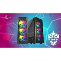 Casing Gaming PC CUBE GAMING BYRON-ATX-LEFT SIDE TEMPERED