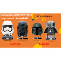 PROMO Bluetooth Speaker Sound System Handphone Starwars Original Murah