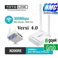 TOTOLINK N200RE Mini Wireless N Router 300Mbps