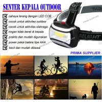 SENTER KEPALA OUTDOOR LAMPU HEADLAMP LED SENTER SPORT OUTDOOR LED