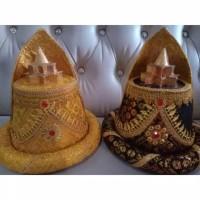 Topi adat Anak Aceh Ukuran anak TK dan SMA