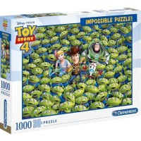 [READY] CLEMENTONI PUZZLE - IMPOSSIBLE PUZZLE TOY STORY 1000 PCS