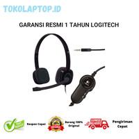 Logitech H151 Stereo Headset RESMI DAN BERGARANSI 100%