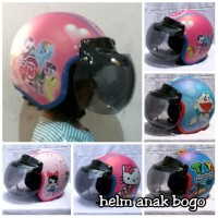 Helm Bogo Anak Karakter Perempuan