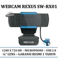 Webcam Rexus SW-RX01 / 1280 x 720 - Microphone - USB 2.0 - Original