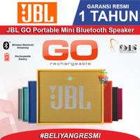 JBL GO Original Speaker Bluetooth - Garansi resmi IMS 1 Tahun - Hitam