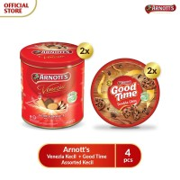 Arnott's Venezia Kecil (2 pcs) + Good Time Assorted Kecil (2 pcs)