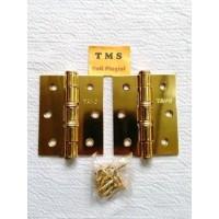 Engsel Tebal Pintu Jendela 3 inch inchi Gold