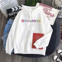 Hoodie Sweater BTS Dynamite Jaket BTS Dynamite K-POP Korean Murah