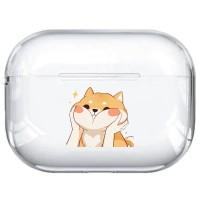 Cute Fox AirPods Pro Case Clear Case Bumper