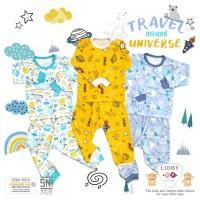Libby Baby XL Setelan Pendek Anak 2 sd 3 Tahun Kaos Bayi