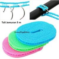 Tali Jemuran 5 Meter clothes line laundry / Gantungan Baju / Tali