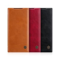 Samsung Note 20 Ultra Note 20 NILLKIN QIN FLIP COVER LEATHER CASE