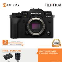 Fujifilm X-T4 Body Only / Fujifilm XT4 Body Only Garansi Resmi - Hitam