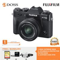 FUJIFILM X-T30 Mirrorless Digital Camera with 15-45mm / Fujifilm XT30 - Hitam