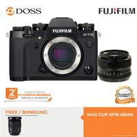 FUJIFILM X-T3 Body Only + XF 35mm f/1.4 Lens / Fujifilm XT3 - Hitam