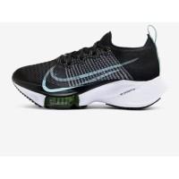 Sepatu Lari Wanita-Nike Air Zoom Tempo Next%-Black/White/Barely- ORI
