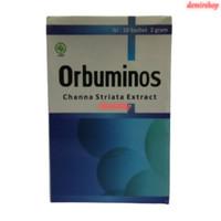 Orbuminos / Ekstrak Ikan Gabus isi 10 Sachet / Nutrisi Ibu Hamil