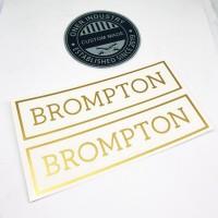 Sticker Brompton label