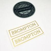 Sticker Brompton Medium