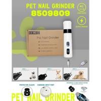 Pet Nail Grinder - hs8509809 kikir penghalus kuku anjing nail trimmer