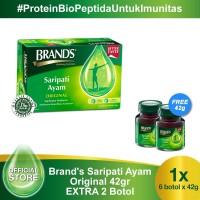 BRAND'S Saripati Ayam Original 42 Gr EXTRA 2 Botol