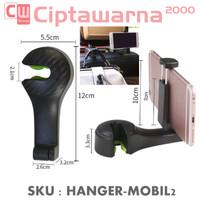 Gantungan Hanger Mobil Tas HP Belanja Rak Jok Car Organizer Mobil