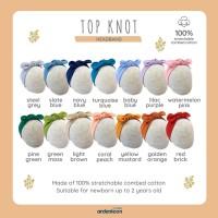 Ardenleon Top Knot Girl Headband Bando Bandana Anak Bayi