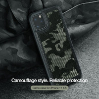 IPHONE 11 PRO MAX 6.5 NILLKIN CAMO ORIGINAL MILITARY HARD CASE SILIKON