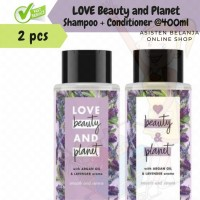 LOVE BEAUTY & PLANET Argan Oil & Lavender Shampo Free Conditioner