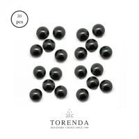 Torenda Mutiara (Pearl) Hitam (Mystic Black) ukuran 4 MM / PCS