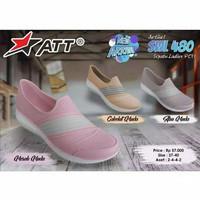Sepatu Karet Wanita Santai Slip On ATT SWL 480